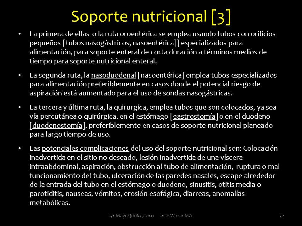 Soporte nutricional [3]